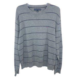 Tommy Hilfiger Mens Striped Crew Neck Sweater - XL